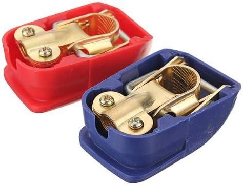 Camion TOOGOO Voiture 12//24V Cosse Batterie Bornes de Batterie Connecteurs de Batterie Liberation Rapide pour Bateau R Van