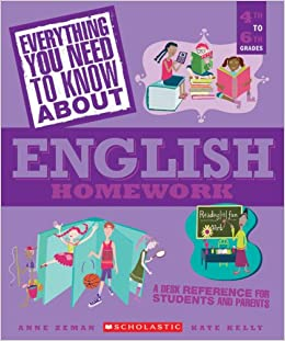 88c0abc3a834 Everything You Need...english To Know About English Homework (Everything  You Need To Know About)  Anne Zeman