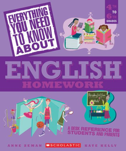 Everything You Need...english To Know About English Homework (Everything You Need To Know About)