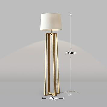 MEILING Moderne Minimalist Kreative Stehlampe Wohnzimmer Schlafzimmer Arbeitszimmer Aus Holz Holzstehlampe