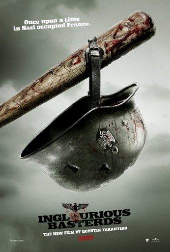 Inglourious Basterds Movie Poster 2 Sided Original Bat Quentin Tarantino