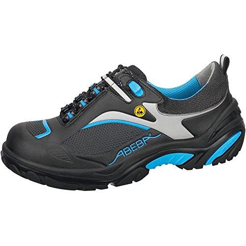 Abeba 34501-45 Crawler Chaussures de sécurité bas ESD Taille 45 Noir/Bleu