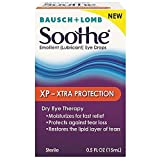 Bausch + Lomb Soothe XP Xtra Protection Emollient Eye Drops - 0.5 oz, Pack of 4