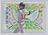 #3: Chipper Jones 1997 Topps Sweet Strokes #SS8 Braves Baseball Card