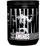 Universal Nutrition Animal Juiced Aminos Enhanced BCAA and EAA Instantized Amino Acid Supplement, Strawberry Limeade, 358 grams - 30 Count