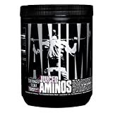 Universal Nutrition Animal Juiced Aminos Enhanced BCAA and EAA Instantized Amino Acid Supplement, Strawberry Limeade, 358 grams – 30 Count