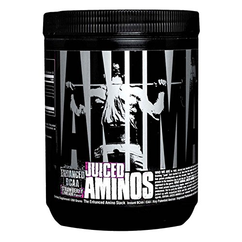 Animal Juiced Aminos – 6g BCAA EAA Matrix plus 4g Amino Acid Blend for Recovery and Improved Performance – Strawberry Limeade – 30 Servings