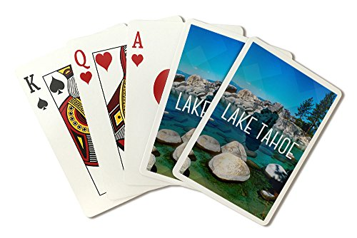 Lake Tahoe - Inlet (Playing Card Deck - 52 Card Poker Size with Jokers) by Lantern Press