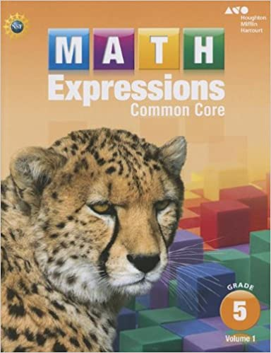 Math Expressions: Student Activity Book, Volume 1 (Softcover ...