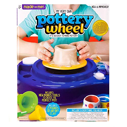 Pottery Wheel Kids (Made By Me My Very Own Pottery Wheel Kit by Horizon Group)