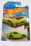 mazda rx7 hot wheels - Hot Wheels 2018 50th Anniversary Nightburnerz '95 Mazda RX-7 141/365, Green