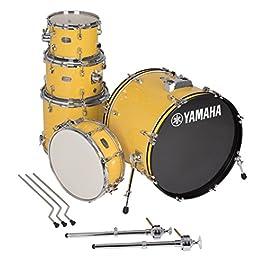 Yamaha Rydeen 5pc Shell Pack with 20″ Bass Drum, Mellow Yellow