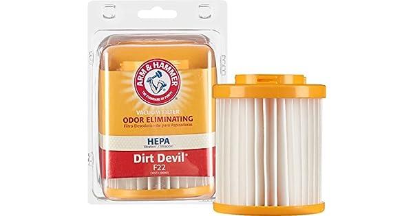 Amazon.com: Arm & Hammer – Filtro Hepa Aspiradora Dirt Devil ...