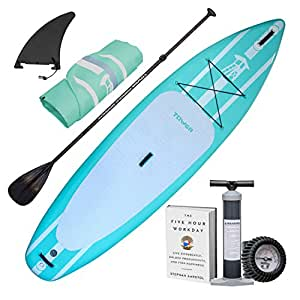"Tower Paddle Boards Torre 10 4"" Turquesa Sirena ..."