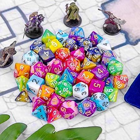 Amazon.com: Dice de DDND Dice, Dungeons y Dragons Dice de 42 ...