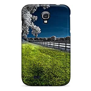 Hot New Blue Green Case Cover For Galaxy S4 With Perfect Design