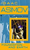 Book cover from Foundation and Earth by Isaac Asimov