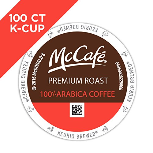 McCafe Premium Roast Coffee, K-CUP PODS, 100 Count by McCafe (Image #1)