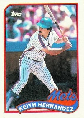 1989 Topps 480 Keith Hernandez New York Mets Baseball