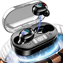 イヤホン bluetooth 重低音【第4代進化版 bluetoothイヤホン 5.0技術...