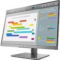 HP EliteDisplay 24-Inch Screen LED-Lit Monitor Black/Silver (1FH49U9#ABA)