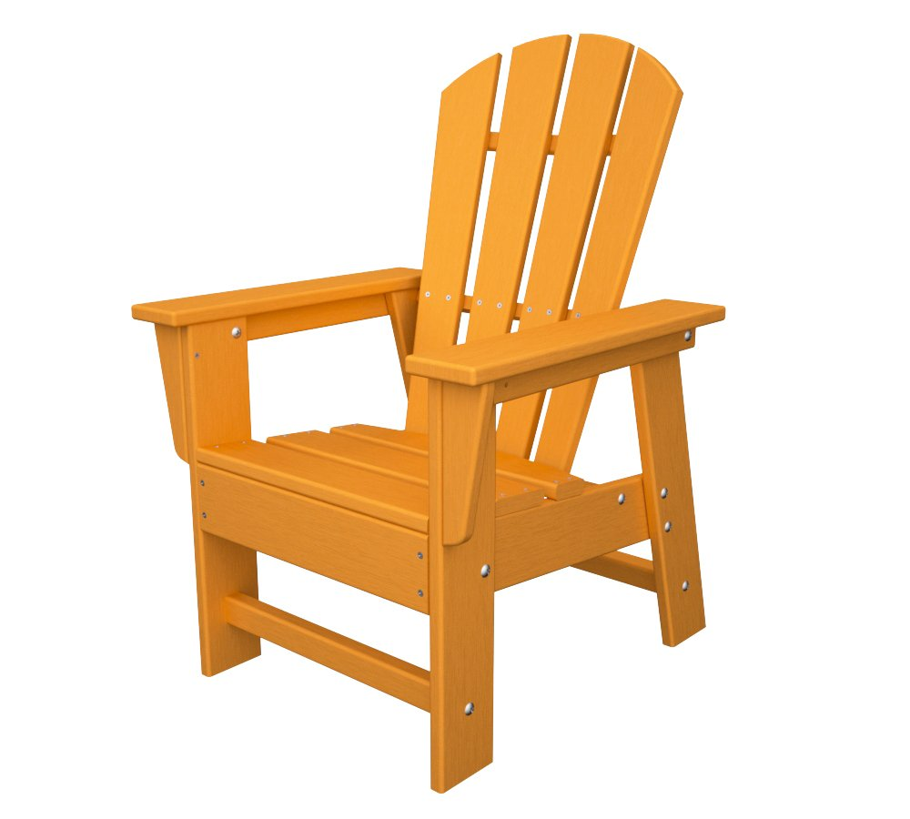 Amazon.com  POLYWOOD SBD12TA Kids Casual Chair Tangerine  Adirondack Chairs  Garden u0026 Outdoor  sc 1 st  Amazon.com & Amazon.com : POLYWOOD SBD12TA Kids Casual Chair Tangerine ...
