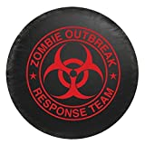 zombie response tire cover - Universal Red Zombie Breakout Response Team Spare Tire Cover 29.5 - 32.5 inches
