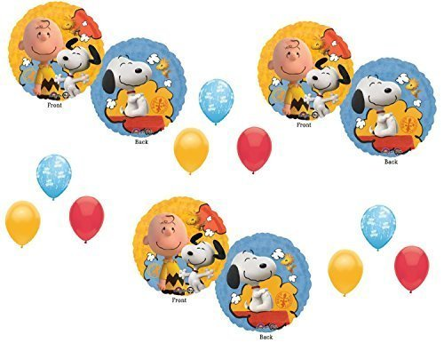 Peanuts Charlie Brown Balloons Decoration Supplies Party Snoopy -