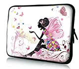 iCasso New Art Image Soft Neoprene 11-Inch Apple MacBook Air Ultrabook Netbook Bag Envelope Case Cover Sleeve Carrying Protector Case Bag - Apple MacBook Air/ Acer / Asus / Dell / Fujitsu / Lenovo / HP / Samsung / Sony / Toshiba, suitable for Acer C720 Chromebook/ Acer Aspire E3-111 / Asus X205TA / ASUS Q200E / HP Stream 11 Laptop / HP Pavilion X2/ Samsung Chromebook XE303C12 (Elves)