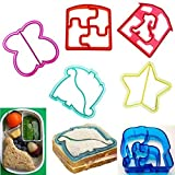 Fashionclubs Kids Sandwich And Bread Press Cutter Maker Mould (6pcs)