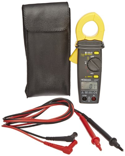 313A Mini AC/DC Current Milli Amp Clamp Meter, 600A AC/DC...