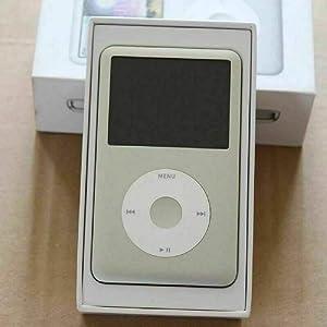Original AppleiPod Compatible for mp3 mp4 Player Apple iPod Classic 7th gen 160GB Black & Silver (Silver)