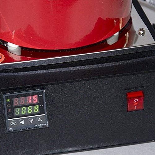LHRGYY 1600W Goldschmelzofen 1KG/ 2KG/3KG 1100 ℃ Automatische Digitale Schmelzmaschine mit Graphittiege,Schmelzofen zum Raffinieren von Gussgold, Silber und Kupferschmuck zur Schmelzofen Gold,3KG