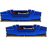 G.SKILL Ripjaws V Series 16GB (2 x 8GB) 288-Pin SDRAM DDR4 2666 (PC4 21300) Memory F4-2666C15D-16GVB