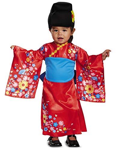Kimono Cutie Japanese Geisha Toddler Costume -