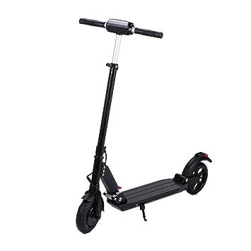 SJZQ Scooter EléCtrico, Barra T Ajustable Plegable PortáTil ...
