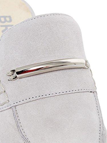 Bronx Damen Bx 1249 Bspeziax Pantofola Grau