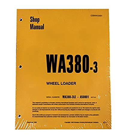 download komatsu wa450 3le wa450 3l wa 450 wheel loader service repair workshop manual