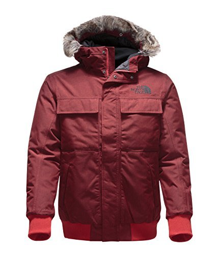 The North Face Men s Gotham Jacket II Cardinal Red Heather X-Large 41d179a1e853