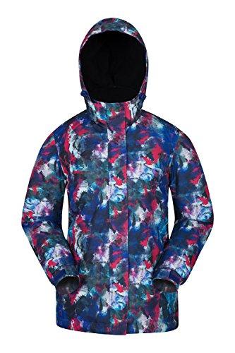 - Mountain Warehouse Dawn Womens Ski Jacket - Ladies Winter Snow Jacket Dark Purple 10