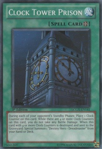 - Yu-Gi-Oh! - Clock Tower Prison (LCGX-EN141) - Legendary Collection 2 - 1st Edition - Common