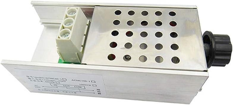 Velocidad Motor Controlador, 10000W AC 220V Velocidad Motor ...