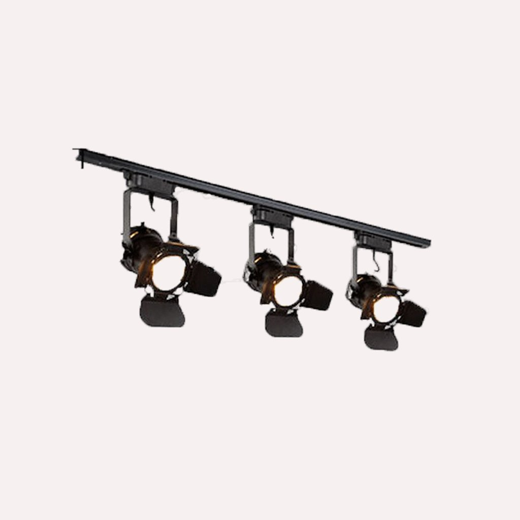 GUOYUN LED Industrial Wind Beleuchtung Schaufenster Cafe Window Long Pole Bekleidung Shop Mounted Backdrop Scheinwerfer Track Lights