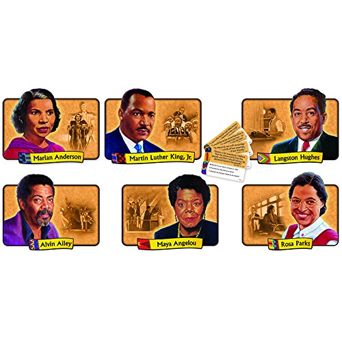 Trend Enterprises African-American Achievers Bulletin Board Set (T-1894) (Christian Bulletin Board Supplies)