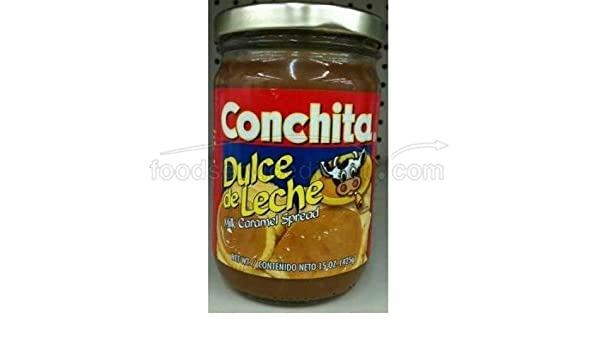 Amazon.com : Dulce de Leche Caramel Spread by Conchita : Grocery & Gourmet Food