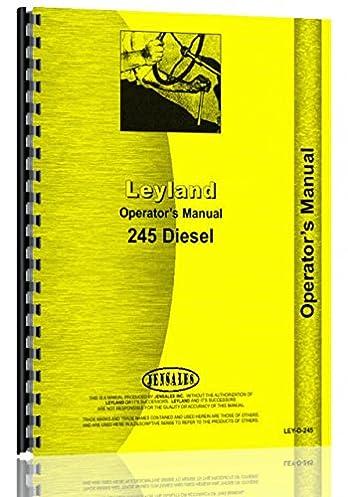 leyland 245 tractor operators manual amazon co uk 0739718107892 books rh amazon co uk leyland 245 tractor manual Leyland Engine