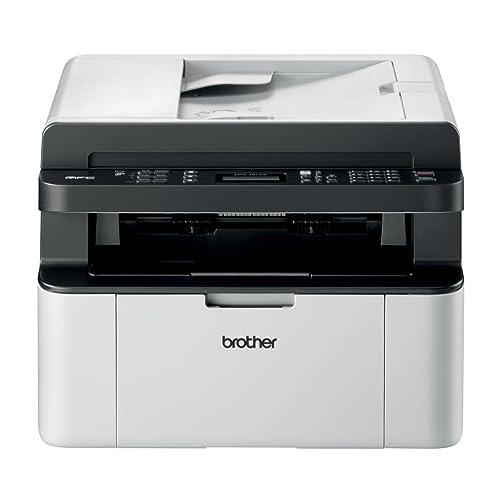 Brother MFC1910WM1 Impresora multifunción láser b n 20 PPM Negro y Blanco Importado