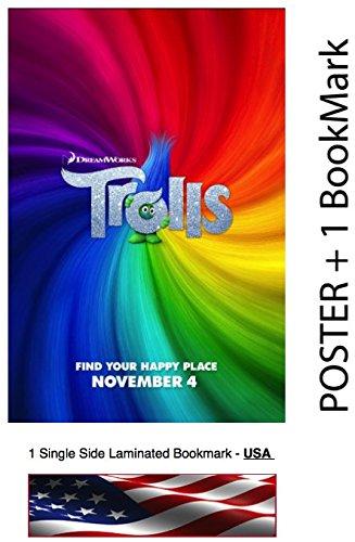"Trolls  - Movie Poster, Size: 12 x 18"" - Justin Timberlake,"