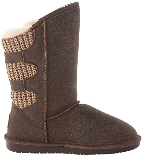 distressed Boot Winter Women's Boshie Bearpaw Chestnut XqOwXa
