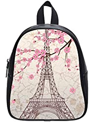 This school bag is much more suitable for kindergarten children/ Pretty Specially-made Paris Eiffel Tower Theme...